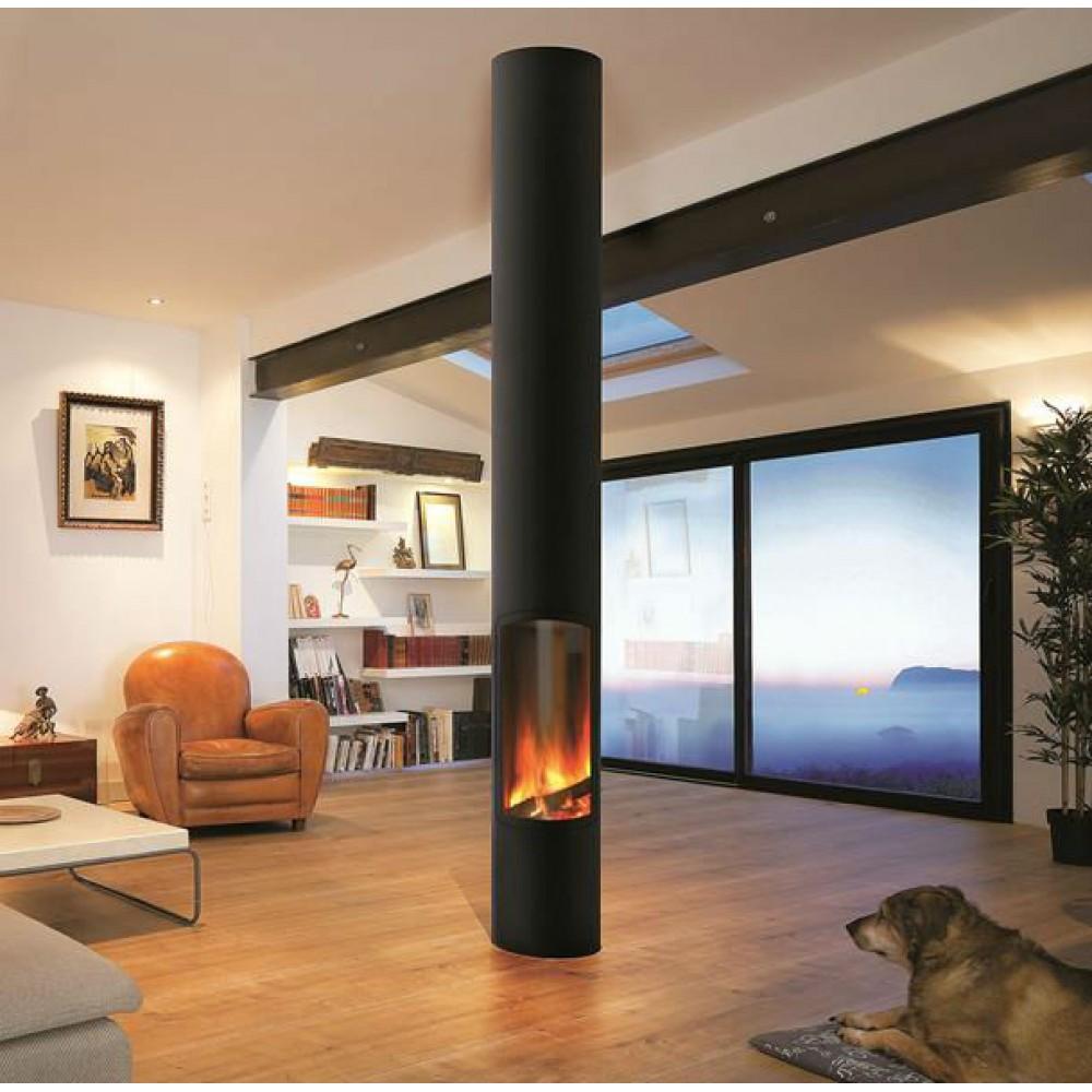 lareira a g s slimfocus or amento gratuito pedra e decora o. Black Bedroom Furniture Sets. Home Design Ideas