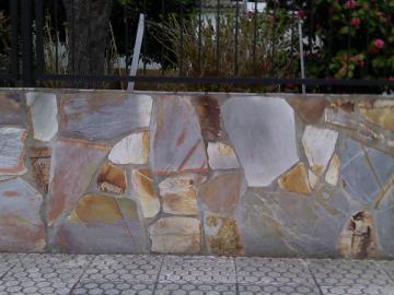 revestimentos em pedra xisto-prata
