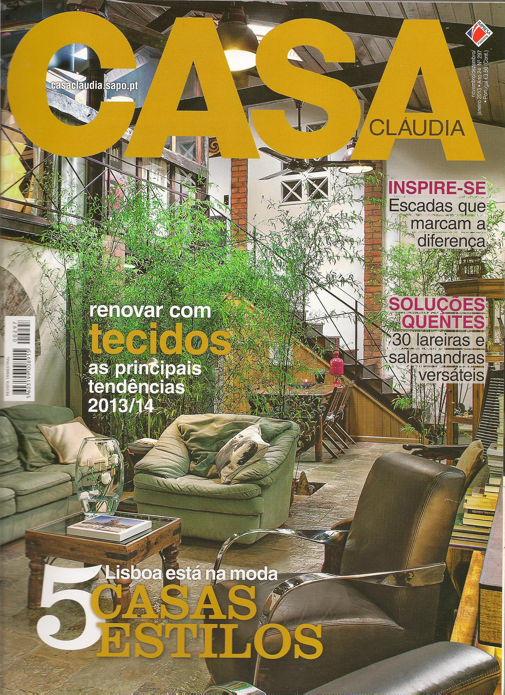 Revista Casa Cláudia 2013 – Janeiro