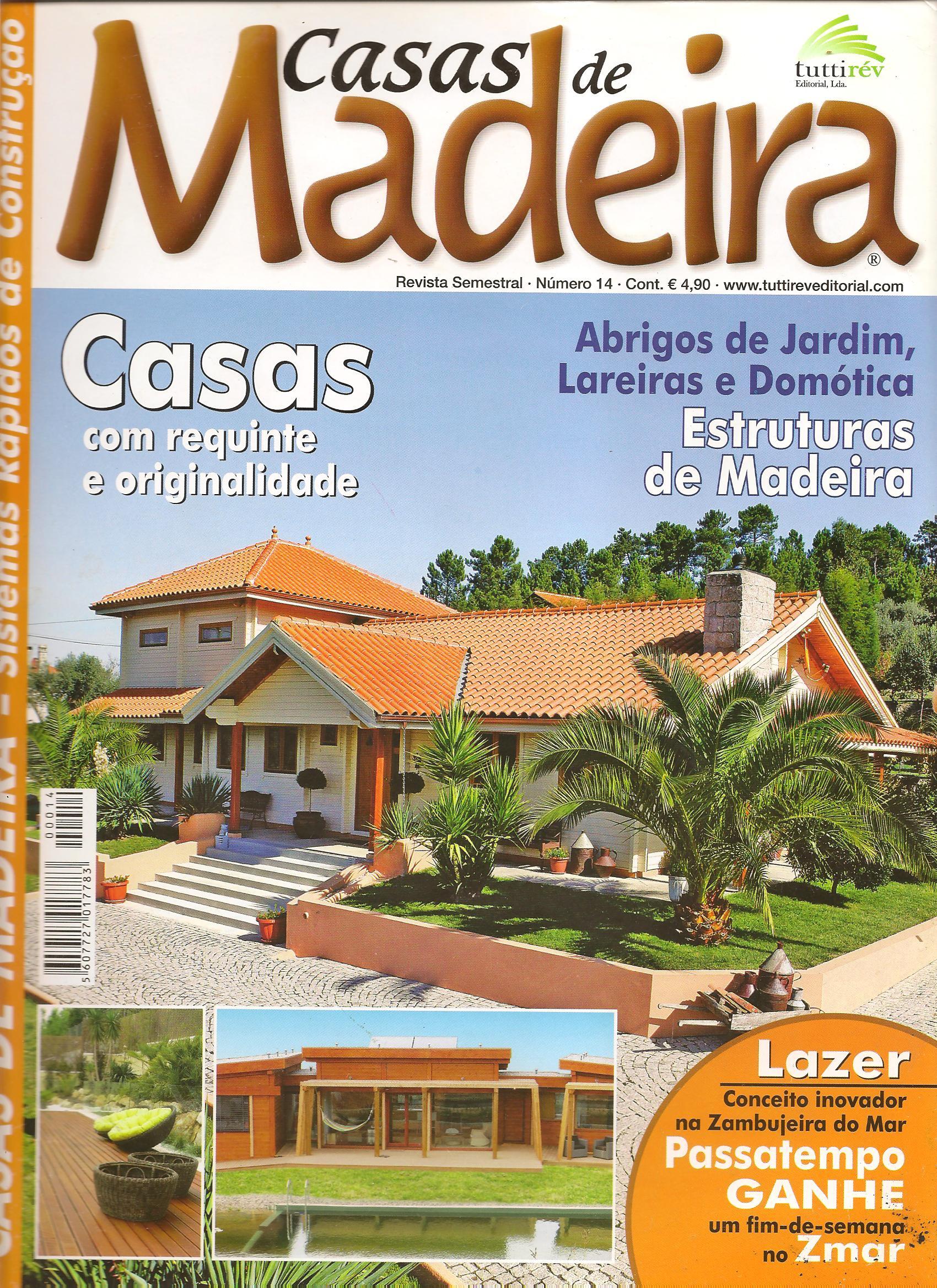 Revista Casas de madeira 2013