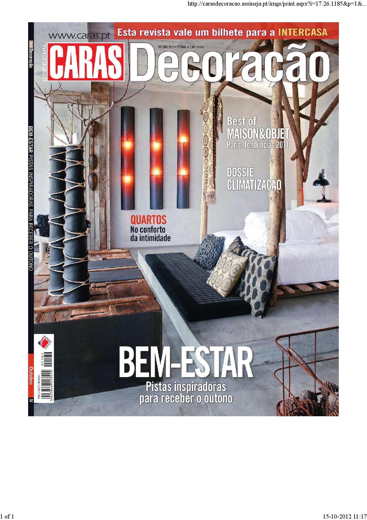 Revista Casa e Decoração 2010 – Outubro