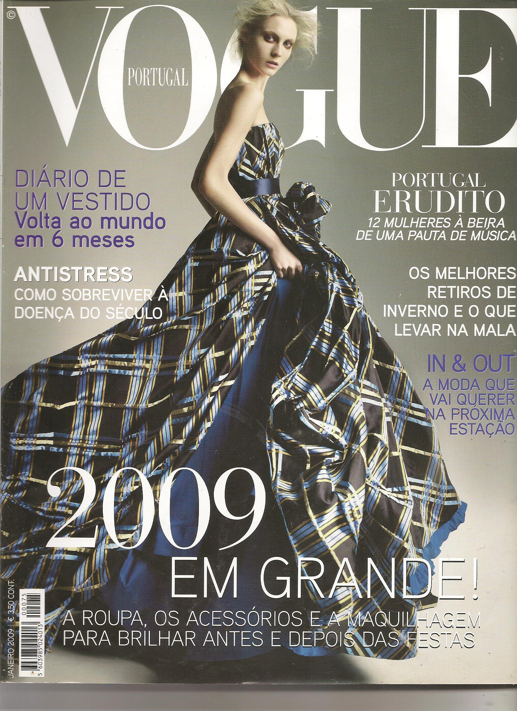 Revista Vogue 2009 – Janeiro